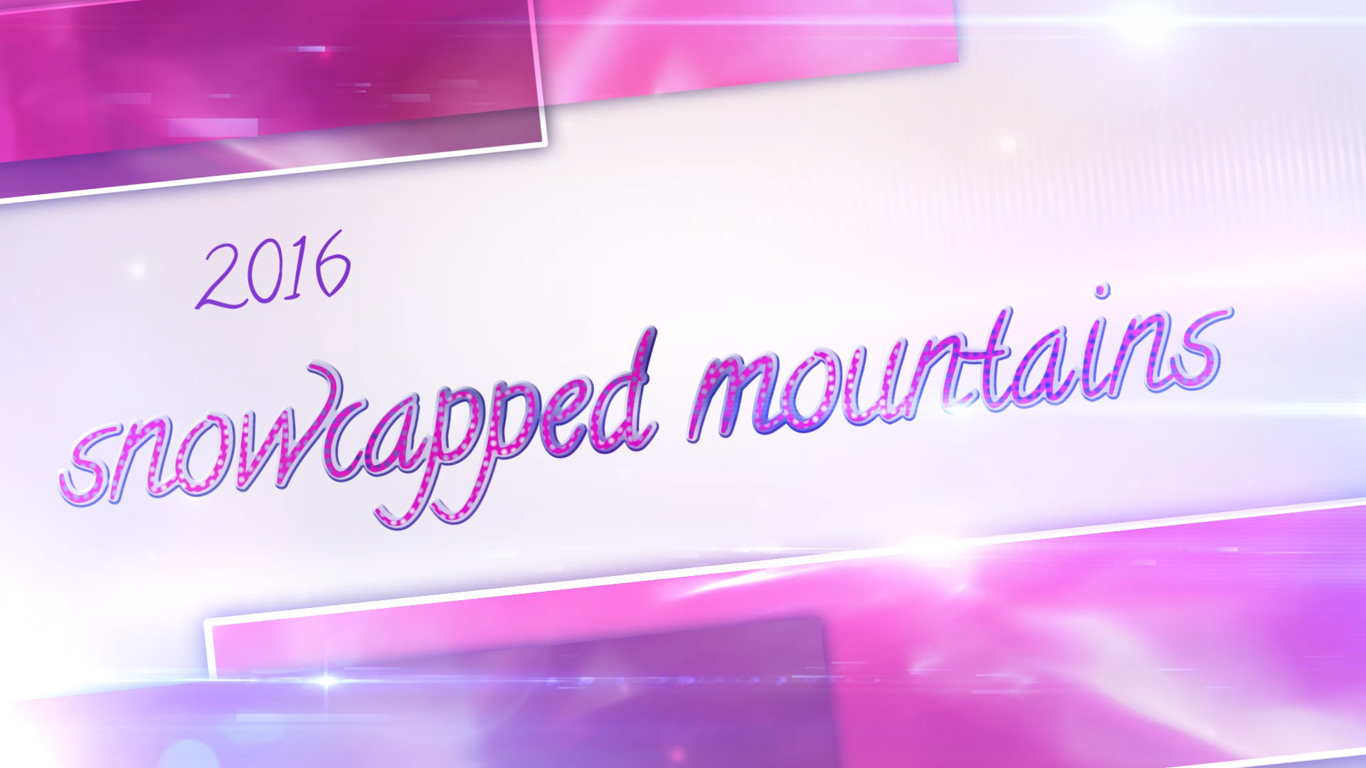 Snowcapped Mountains Videopreview