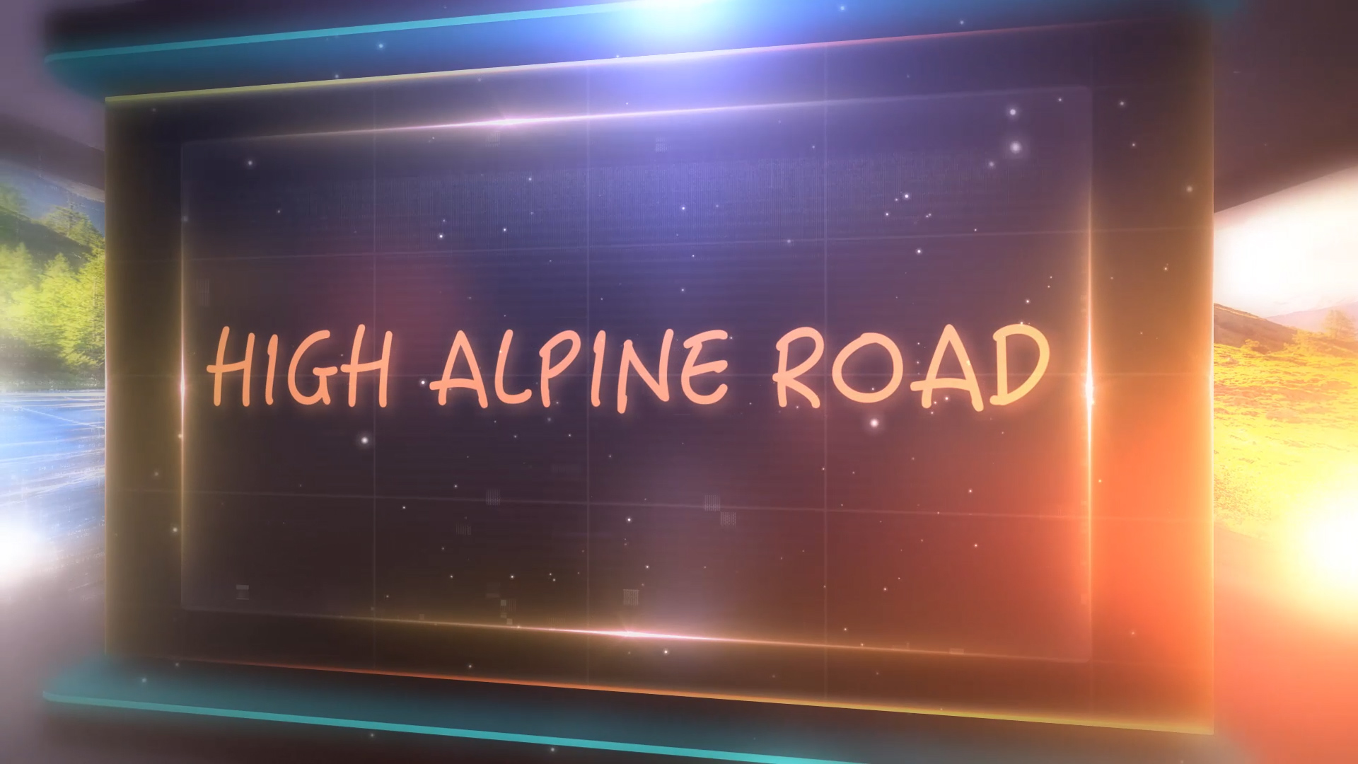 High Alpine Road Videopreview