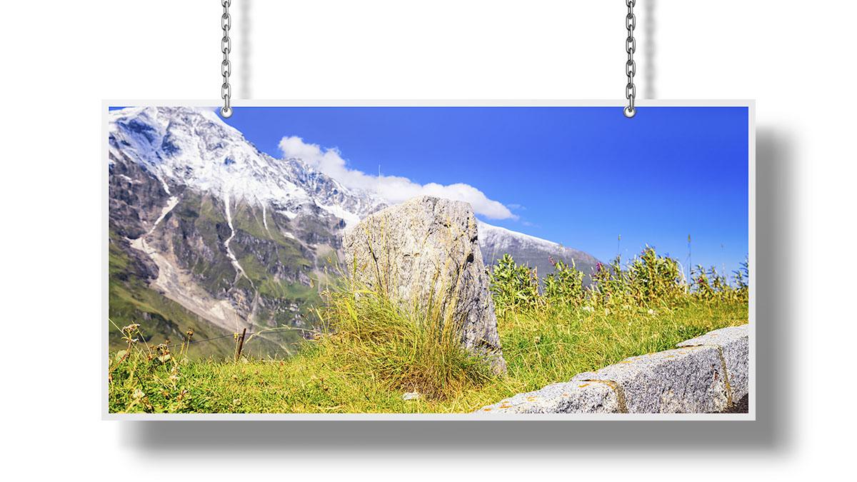 High Alpine Road Photographs