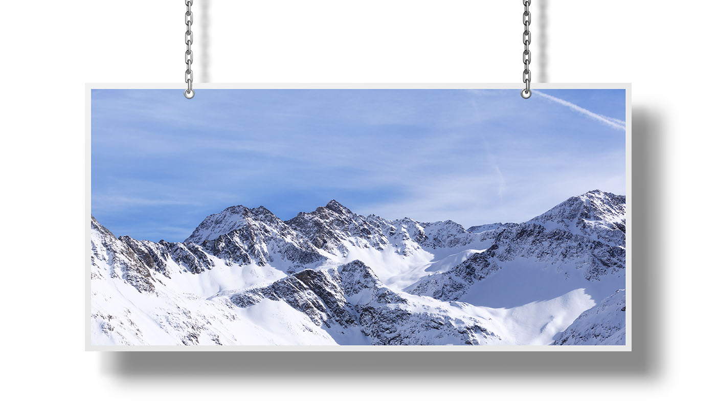Snowcapped Mountains Photographs